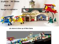 Department 56 22 pieces no boxALL like NewSee