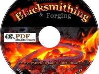 Ultimate Blacksmithing & Forging 50+ eBooks on DVD