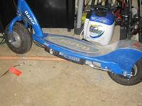 I purchased this electric razor scooter E300 from a