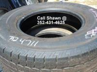 We currently have 370 tires in stock and approximately