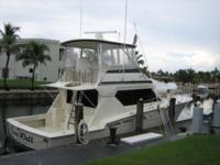 Key Features This 50' Hatteras features a three