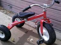 This is not your standard big wheel trike!! This is a