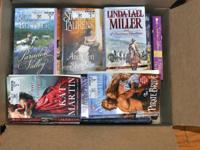 over 50 historial romance novels cost about $7.95 each