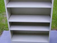 "Hon adjustable 4 shelf. 12 3/4""d X 34 1/2""w X 47""h"
