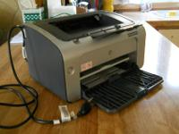 black [only] laser printer... simple, straightforward,