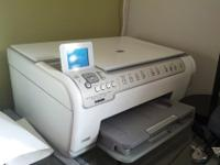 This is an HP PhotoSmart C5180 All-in-One, Printer,