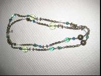 "This is a terrific price for a 50"" necklace of green,"