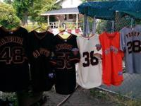 I HAVE MANY DIFFERENT SPORTS JERSEYS FOR SALE IN