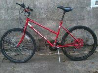 this bike is very well maintained and rides and brakes