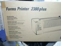 Lexmark Forms Printer 2380 plus B/W Dot-matrix printer