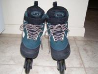 THESE ROLLER BLADES ARE HIGH END; THEY ARE COMFORTABLE