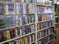 50% OFF ALL INVENTORY! All VHS, DVD's and Music CD's
