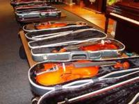 50% Off All Stringed Instruments while supply last.
