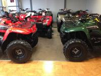 BIG stock of pre-owned ATV's, all makes and models in