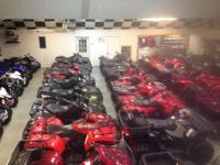 LOTS of pre-owned ATV's in stock Honda - TRX450R -