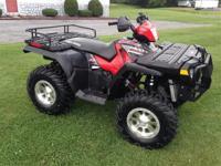 Honda - Foreman TRX 400EX. Kawasaki - Brute Force KFX
