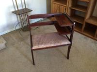 For sale is my gossip bench from the 1950's. This piece