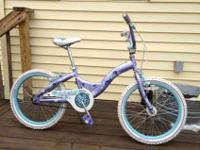 I've got a Schwinn Deelite girl's bike with 20-inch