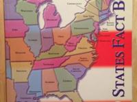 Brand New! Gift Quality! 50 States Fact Book Paperback