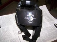 1 set of black in color sparring gear for sale. There