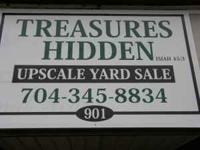 TREASURES HIDDEN ( UPSCALE YARD SALE ) EVERY DAY!!! 901