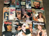 I have an assortment of 50 plus old Rolling Stone