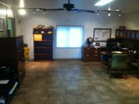 1,000 sq. ft. 1/2 block south of Cedar.  Two main rooms