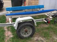 I have a 16 feet boat trailer for sale. The trailer