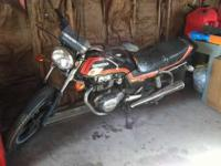 Would make a great project and starter bike!1981 Honda