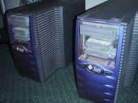 FOR SALE two SUN MICROSYSTEMS SERVER, SYST,RTP,SB2000,