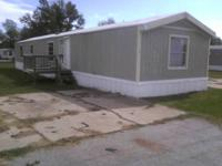 This is a 3 bed 2 bath mobile home in Deerfield MHP at