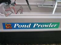 Its a 9' Uncle Buck's pond prowler from the bass pro