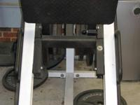 Very good condition hack squat machine $500. (Weights