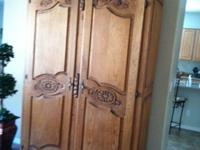 I have a total of 5 beautiful cabinets for sale. 2 very
