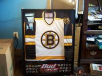 1997 Bud Ice Framed Boston Bruins Jersey Every NHL Team