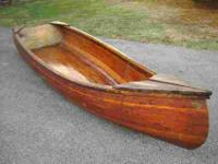 Hand-Made Cedar Strip Boat - 12' Length, I purchased