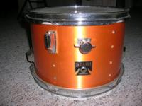 I'M SELLING A VINTAGE TAMA IMPERIAL STAR DRUM SET. IT'S