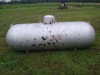 here is a propane tank in good useable condition.As you