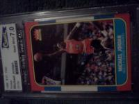 We have for your consideration a Michael Jordan Fleer