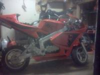 i have 2 bikes one is a baja minibike which is 97cc..