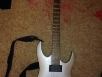 i have a silver Ibanez Matt Bachand Signature guitar i