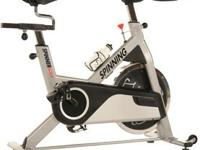 I recently got the spinning bike from SpinnerTv. Comes