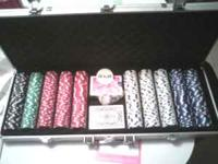 500 piece poker set for sale call or text  Location:
