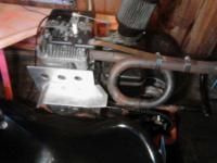 I have a racing go kart. Not real sure what chassis it