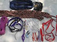 Rock climbing equipment More than enough to get started