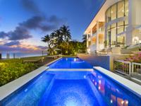 Enjoy panoramic ocean and sunset views from this