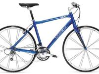 The Trek 7.6 FX 2009 Hybrid Bike combines speed and