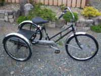 Love this trike! I have just been diagnosed with lung