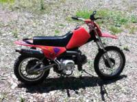 Hello i have a 2005 90cc Redcat dirtbike. This dirtbike
