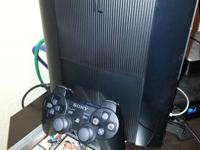i have a PERFECT condition 500GB ps3 there is nothing